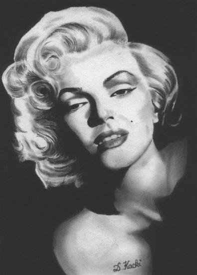 Marilyn Monroe par DelphineK